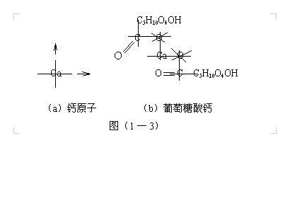 结构中,水分子中两个氢原子的内侧